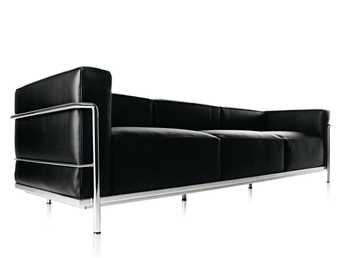 Cassina LC3 Sofa by Le Corbusier, Pierre Jeanneret, Charlotte ...