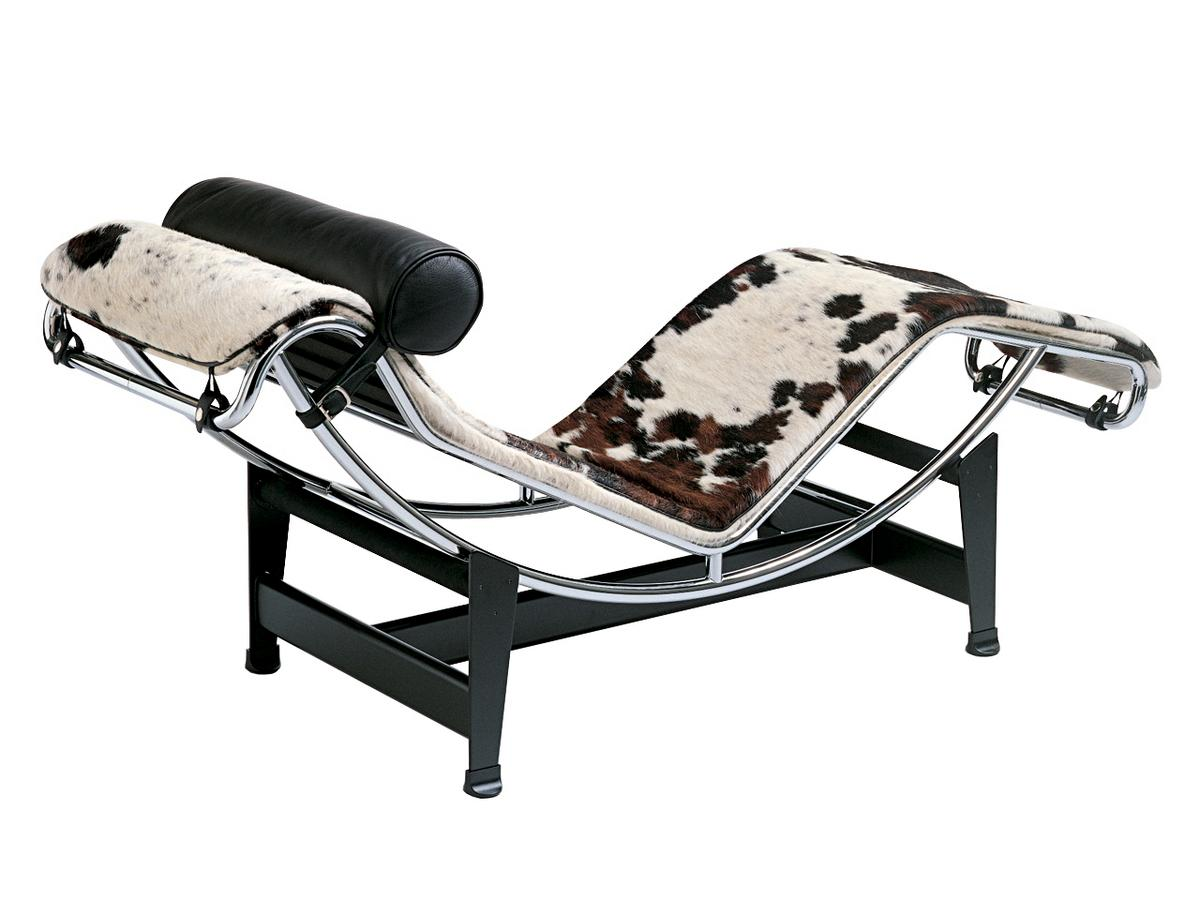 Cassina lc4 chaise longue by le corbusier pierre for Chaise longe le corbusier