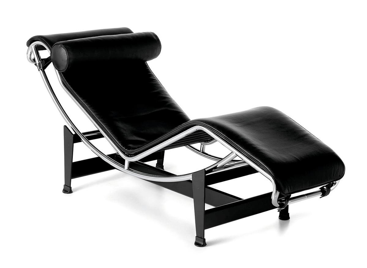 Cassina LC4 Chaise Longue by Le Corbusier, Pierre Jeanneret ...