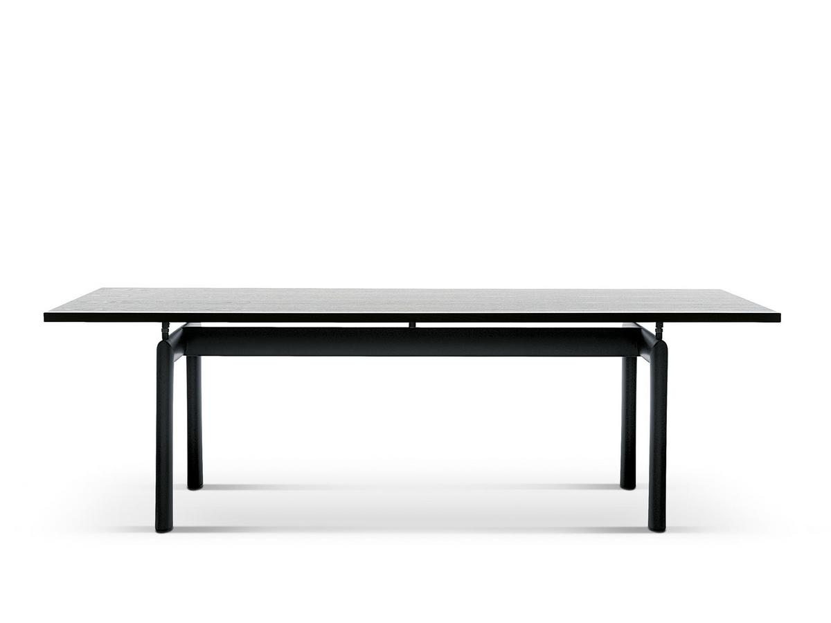 cassina lc6 table by le corbusier pierre jeanneret. Black Bedroom Furniture Sets. Home Design Ideas