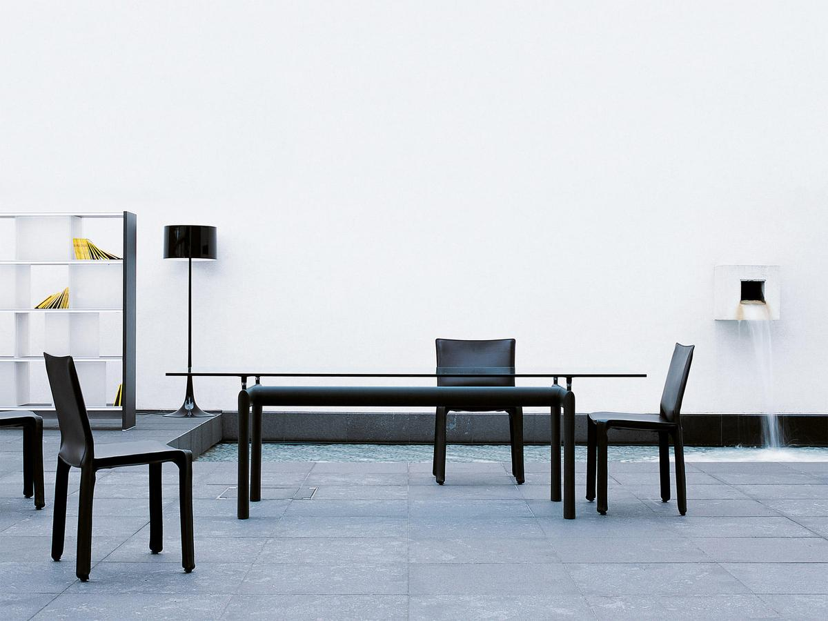 Click here for more imagesCassina LC6 Table by Le Corbusier  Pierre Jeanneret  Charlotte  . Corbusier Lc6 Dining Table. Home Design Ideas