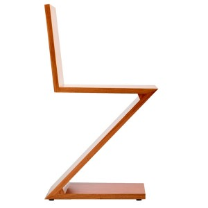Cassina Zig Zag By Gerrit T Rietveld 1934 Designer Furniture By