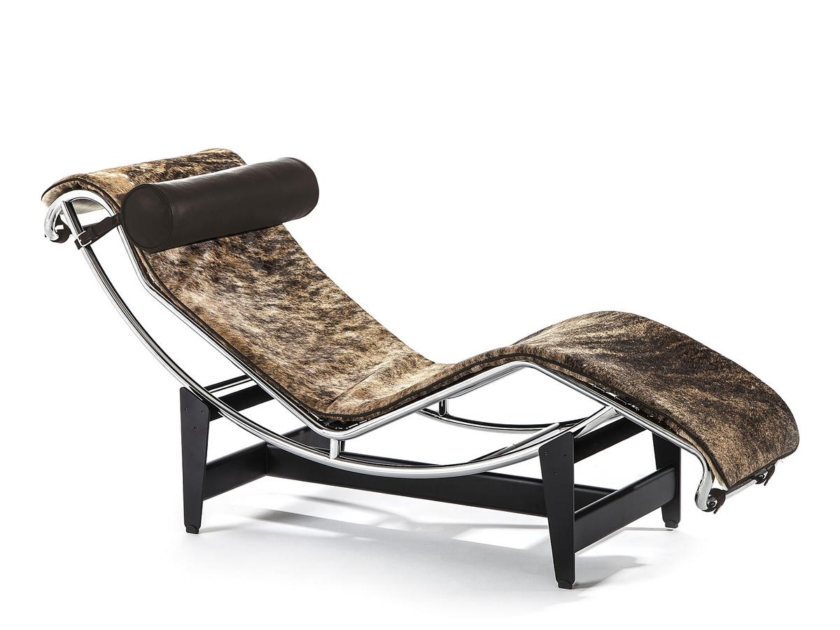 Cassina lc4 chaise longue pampas edition by le corbusier for Chaise longue designer