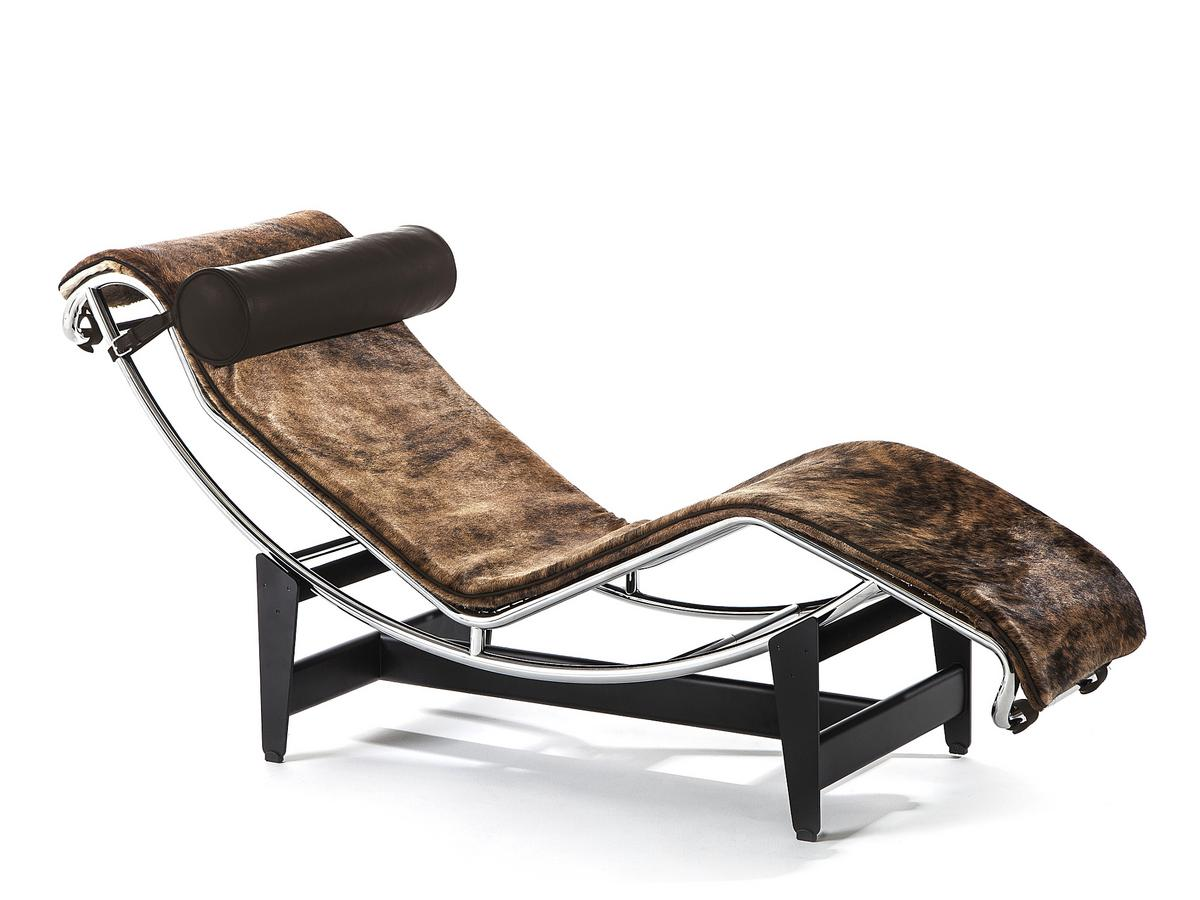 Cassina lc4 chaise longue pampas edition by le corbusier for Chaise longue le corbusier vache