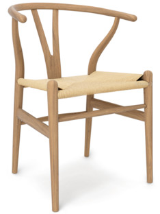 carl hansen søn ch24 wishbone chair soaped oak nature mesh by