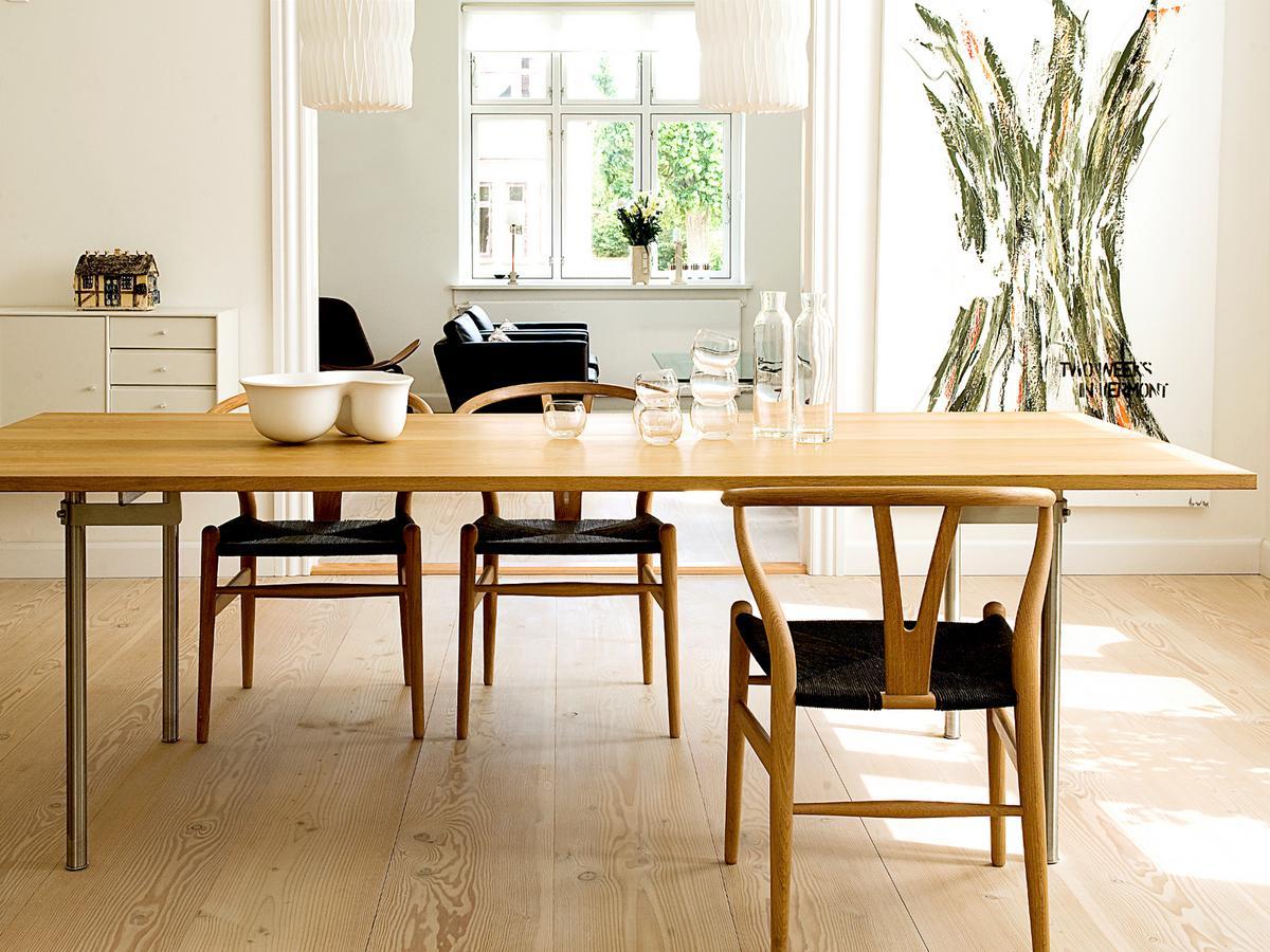 carl hansen s n ch24 wishbone chair by hans j wegner 1950 designer furniture by. Black Bedroom Furniture Sets. Home Design Ideas