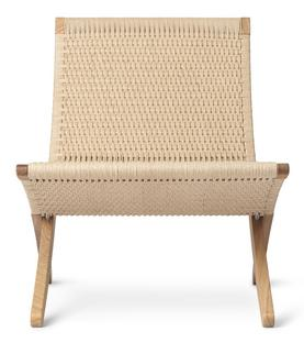 MG501 Cuba Chair Oiled oak Natural paper yarn