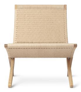 MG501 Cuba Chair Soaped oak|Natural paper yarn