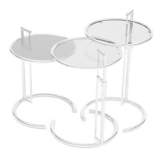 Adjustable Table E 1027 Replacement Glass