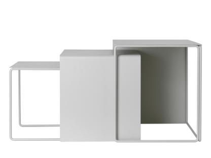 Cluster Tables Light grey