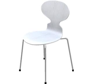 fritz hansen ant chair 3101 by arne jacobsen 1952. Black Bedroom Furniture Sets. Home Design Ideas