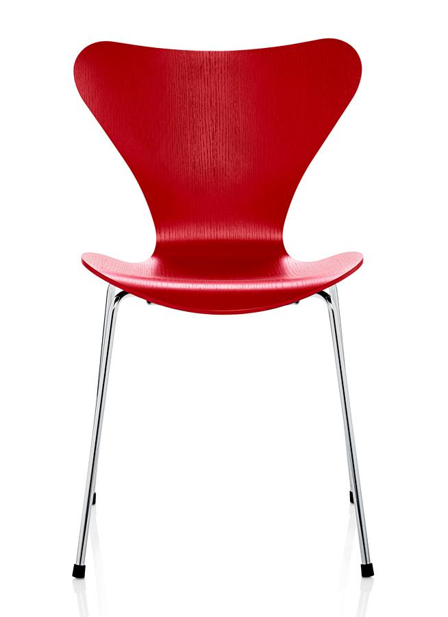 Fritz hansen series 7 chair by arne jacobsen 1955 for Stuhl replica