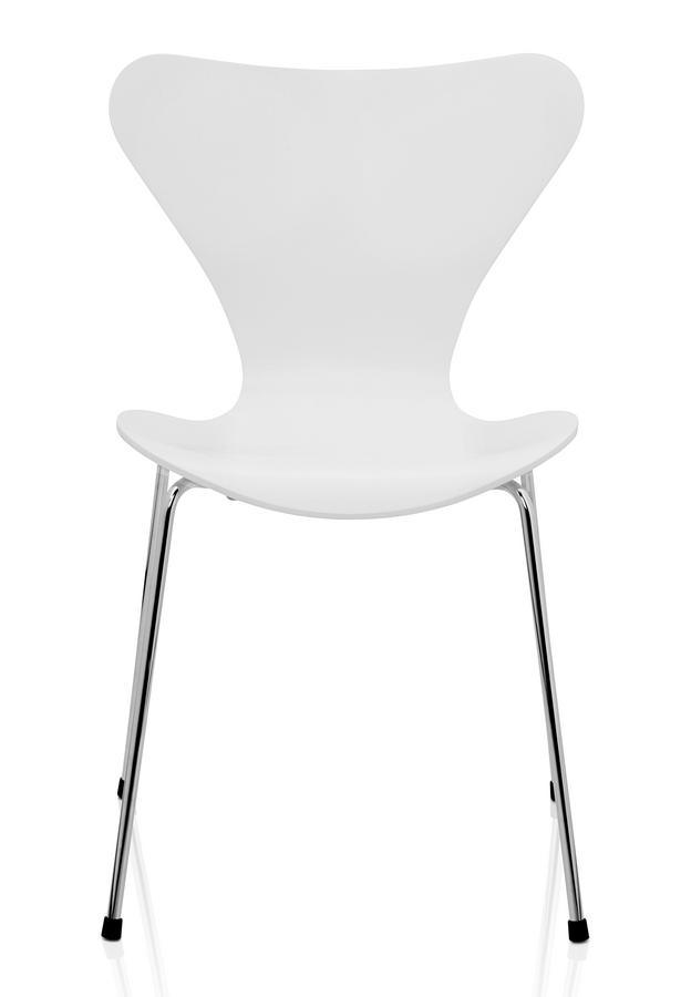 Fritz hansen series 7 chair 3107 by arne jacobsen 1955 for Chaise serie 7 arne jacobsen 1955