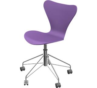 Series 7 Swivel Chair 3117 Lacquer|Evren purple