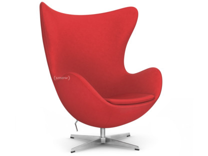 Egg Chair Divina|Divina 623 - Red|Without footstool