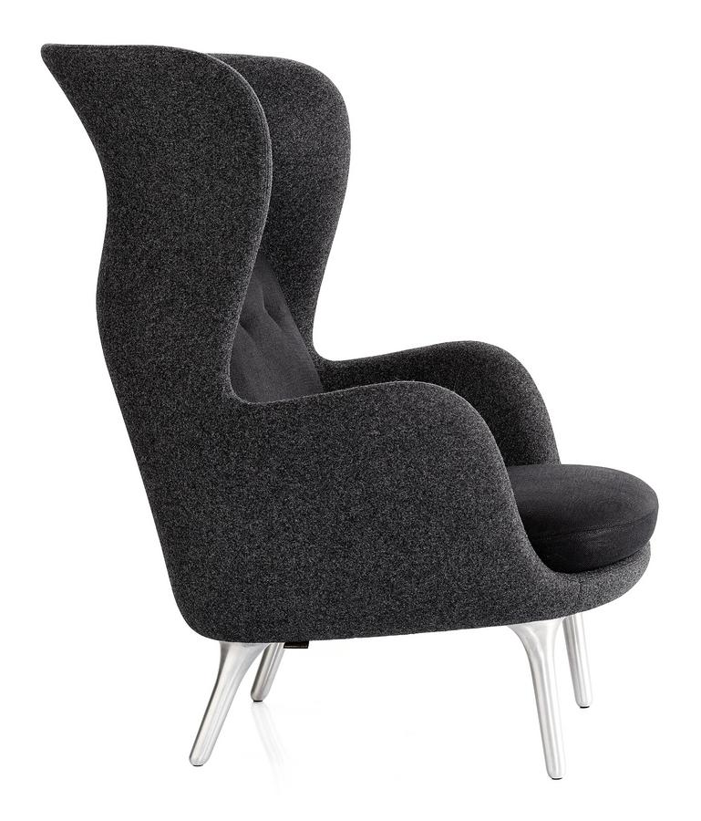 fritz hansen sessel ro 10, fritz hansen ro, black, without footstool by jaime hayon, 2013, Design ideen