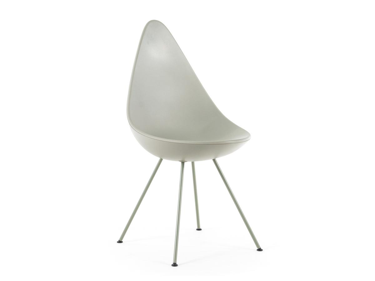 Arne jacobsen drop chair - Drop Stone Grey Shell Colour