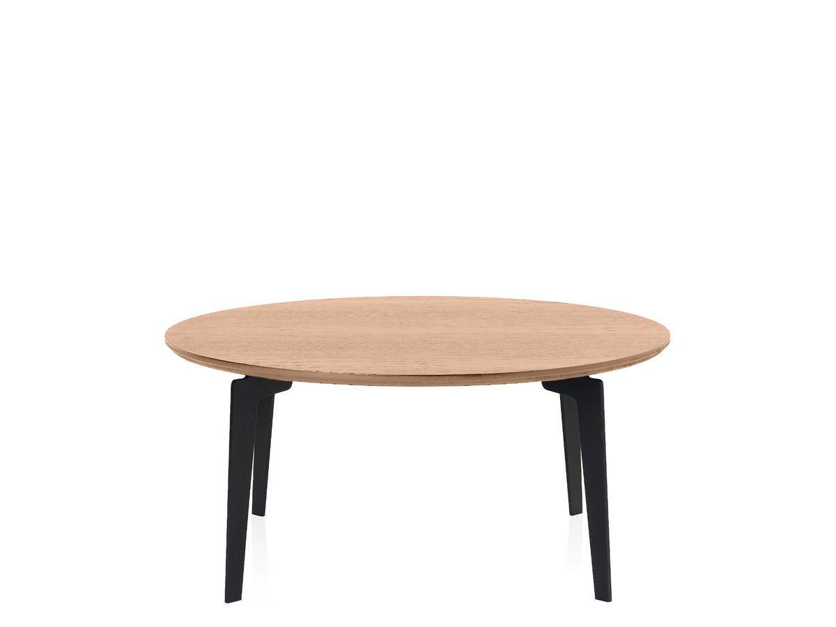 Fritz Hansen Join Coffee Table Fh41 Round 80 Cm Clear Varnished Oak By Fritz Hansen 2014