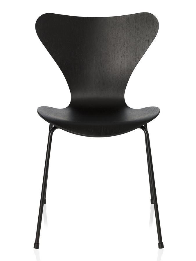 fritz hansen series 7 chair 3107 monochrome by arne jacobsen 1955 designer furniture by. Black Bedroom Furniture Sets. Home Design Ideas