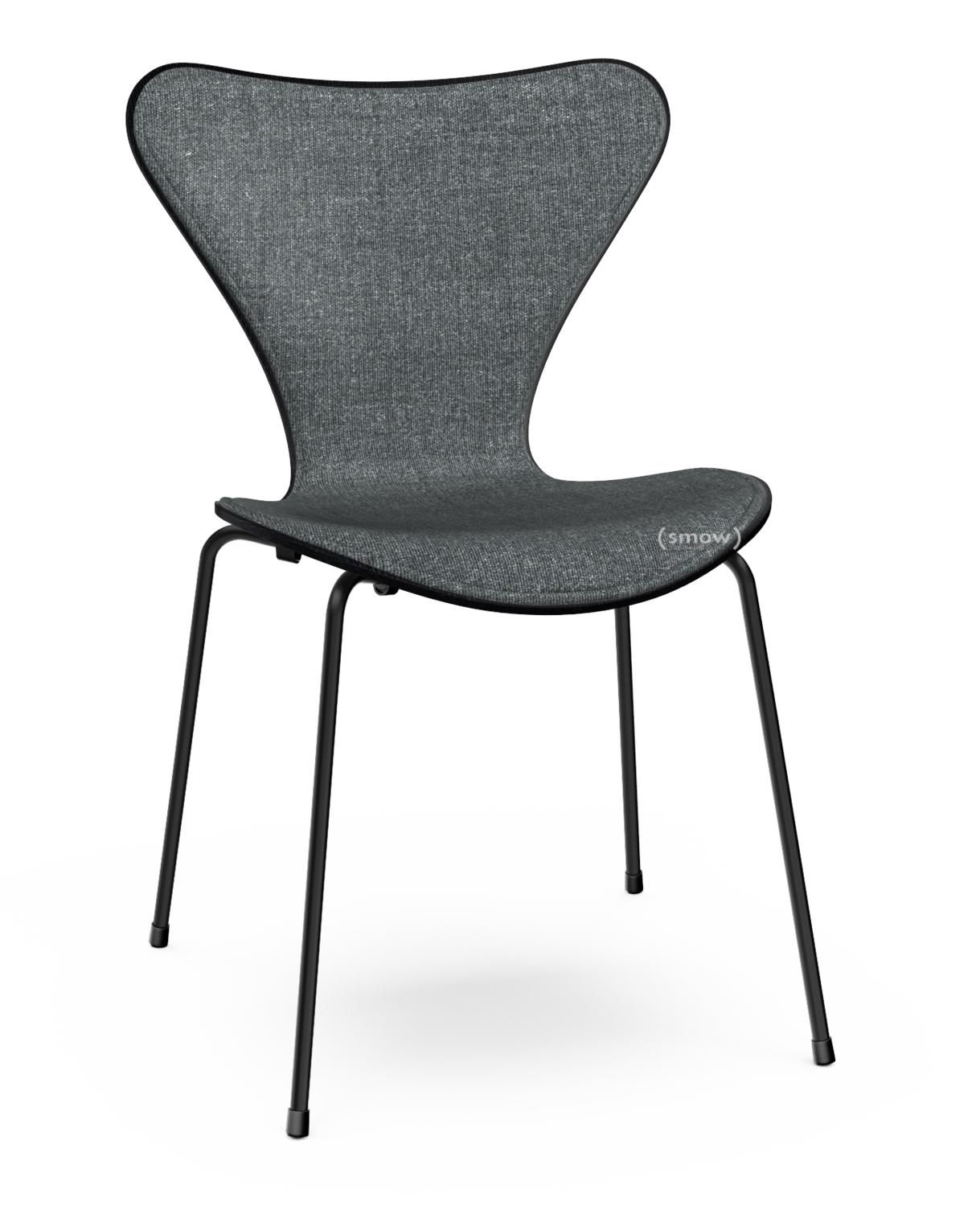 fritz hansen series 7 chair front upholstered by arne. Black Bedroom Furniture Sets. Home Design Ideas