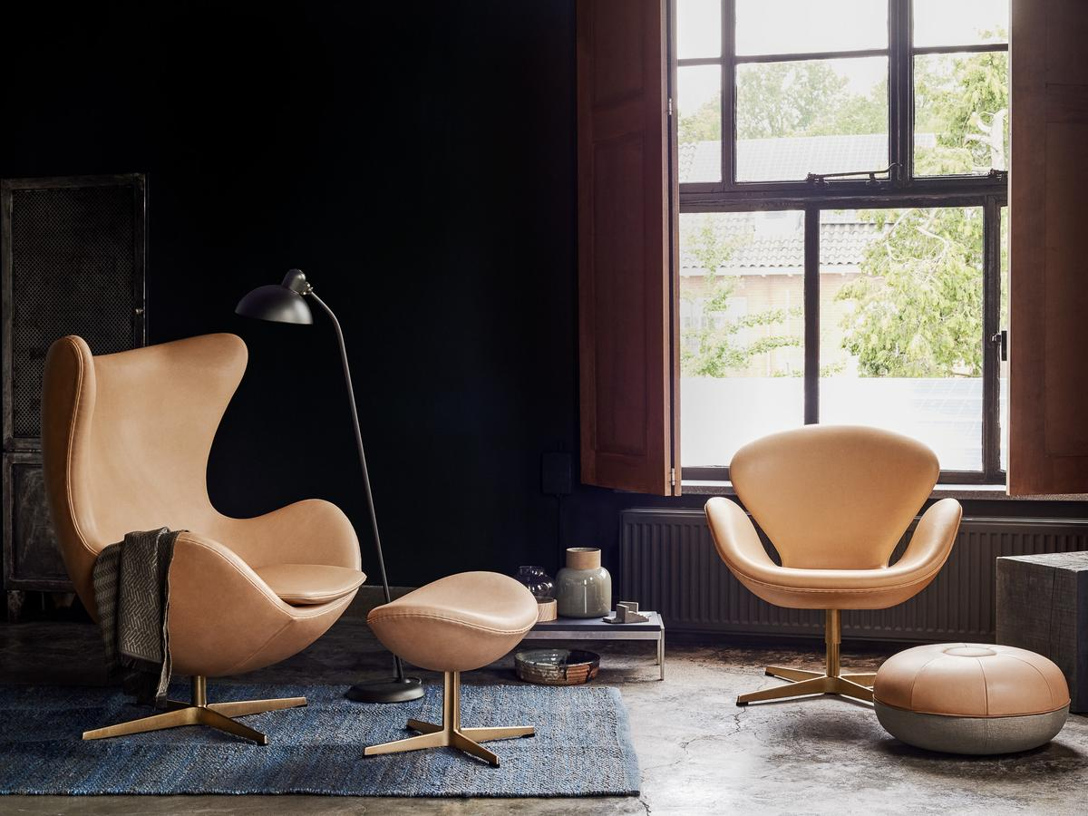 fritz hansen swan chair limited edition by arne jacobsen 1958