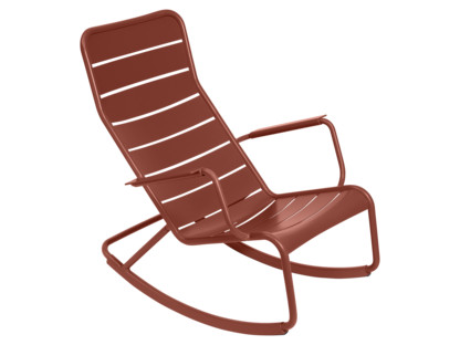 Luxembourg Rocking Chair Red ochre