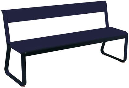 Bellevie Bench with Back Deep blue
