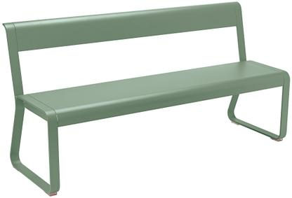 Bellevie Bench with Back Cactus