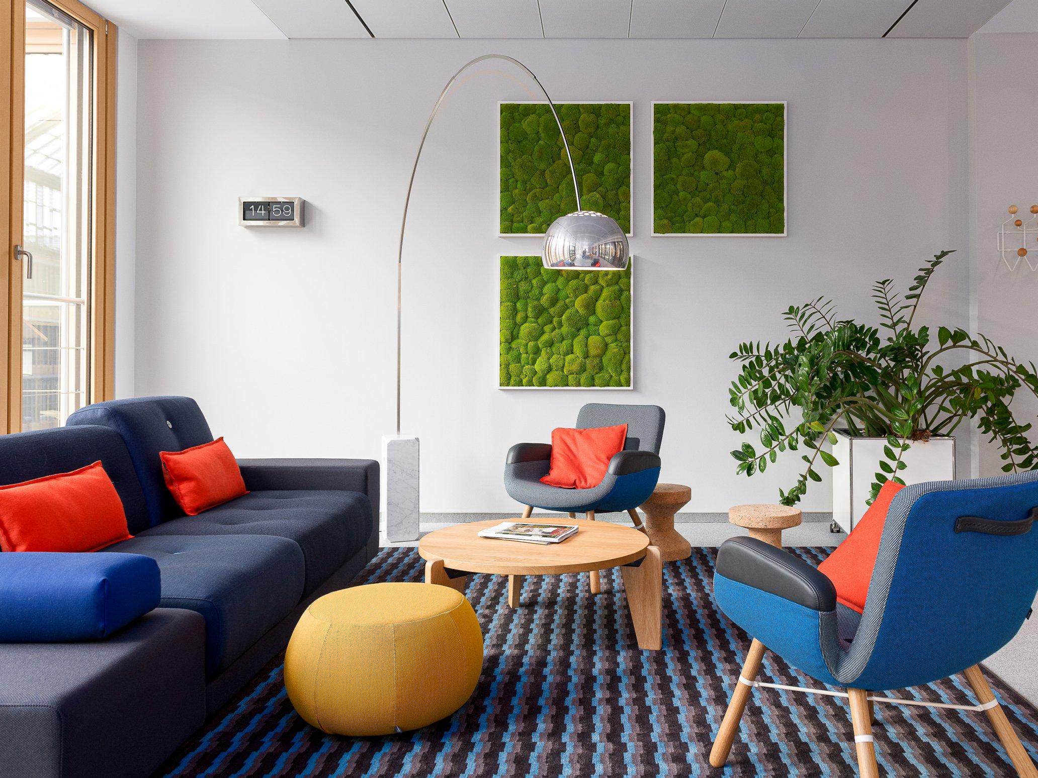 Lounge area BDA, Berlin