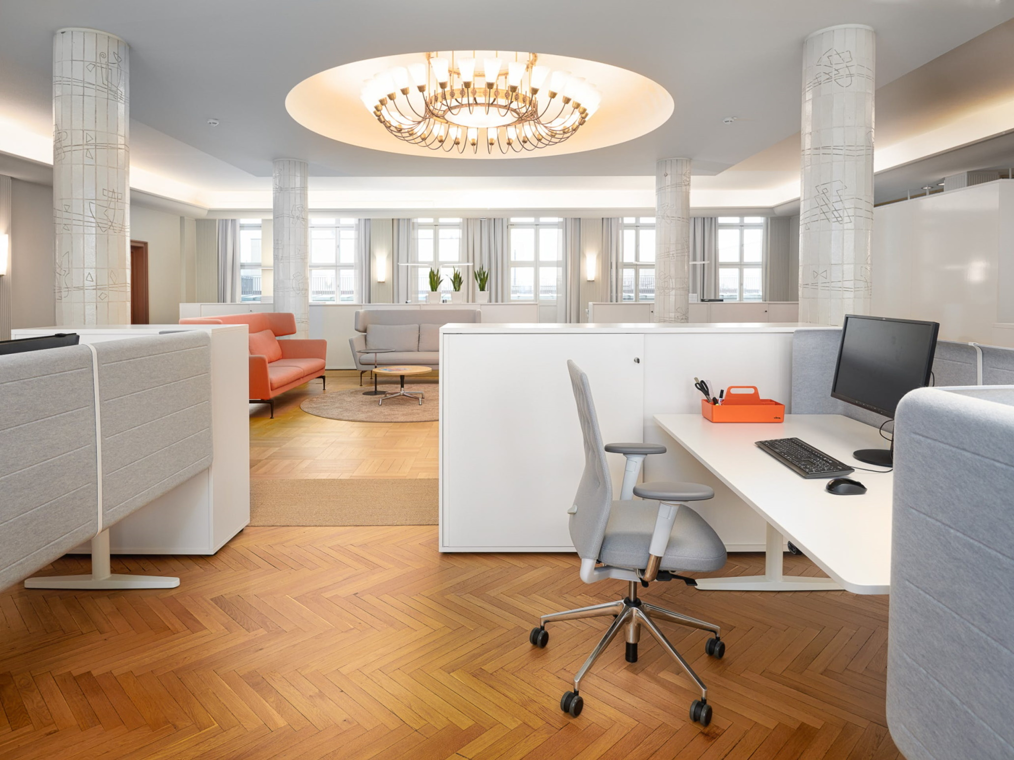 Redesign of the office space