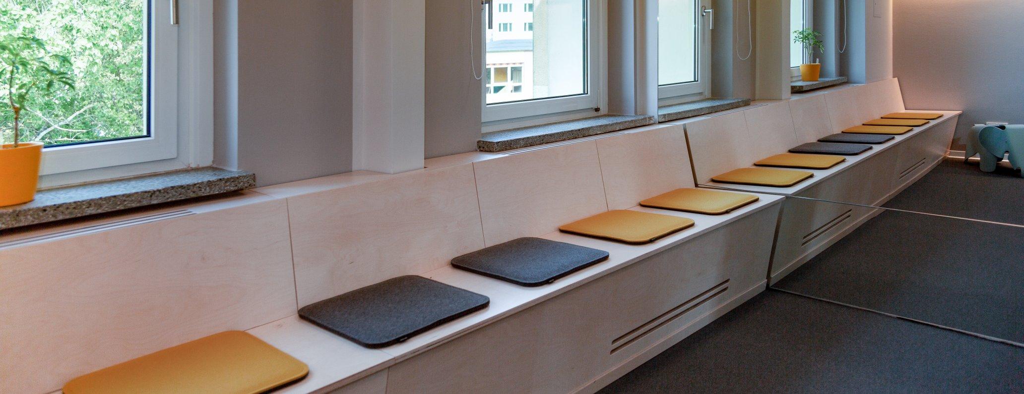 Waiting room medical practice, Chemnitz