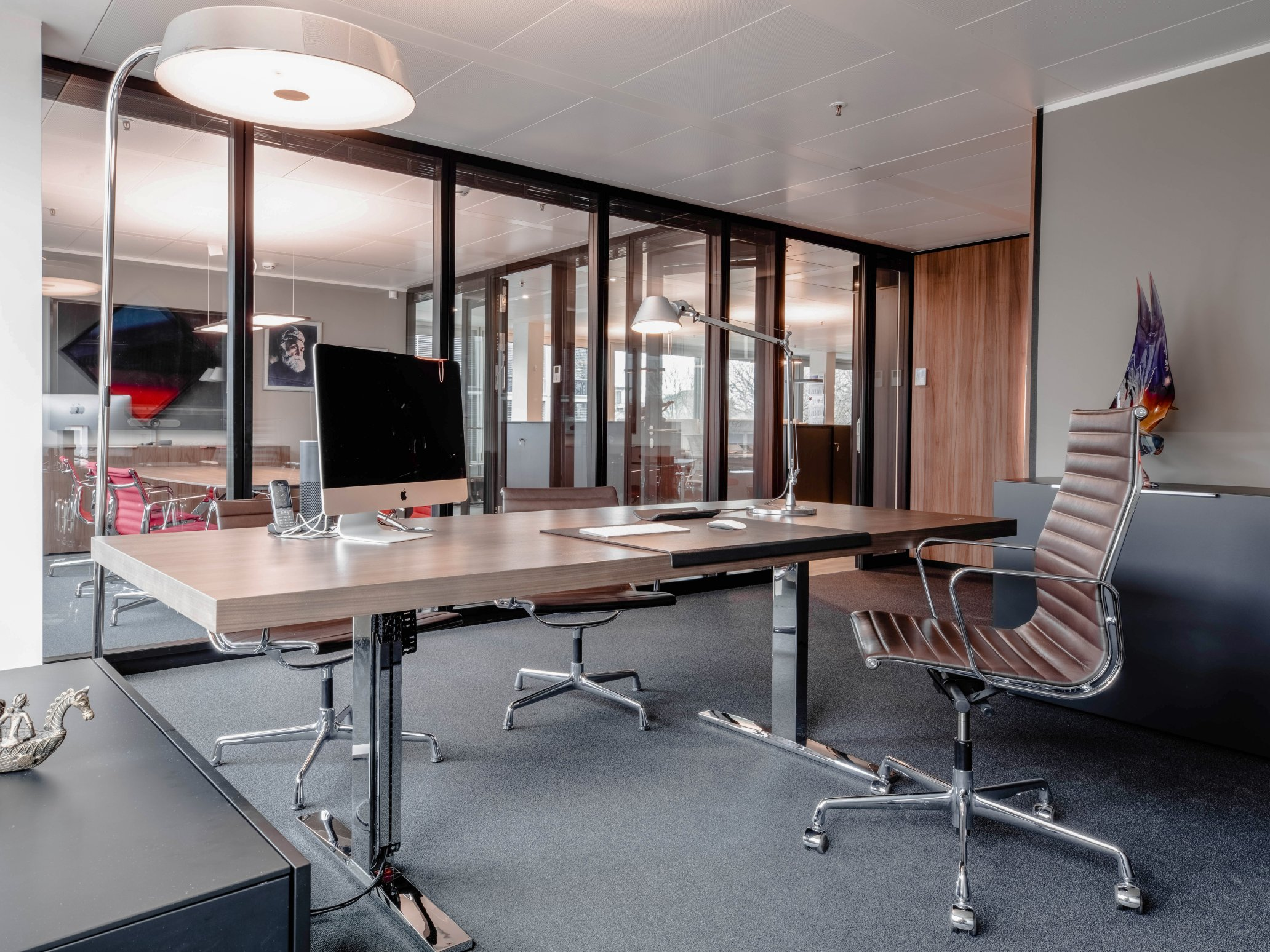 Office for the managing director TKM Global, Hamburg