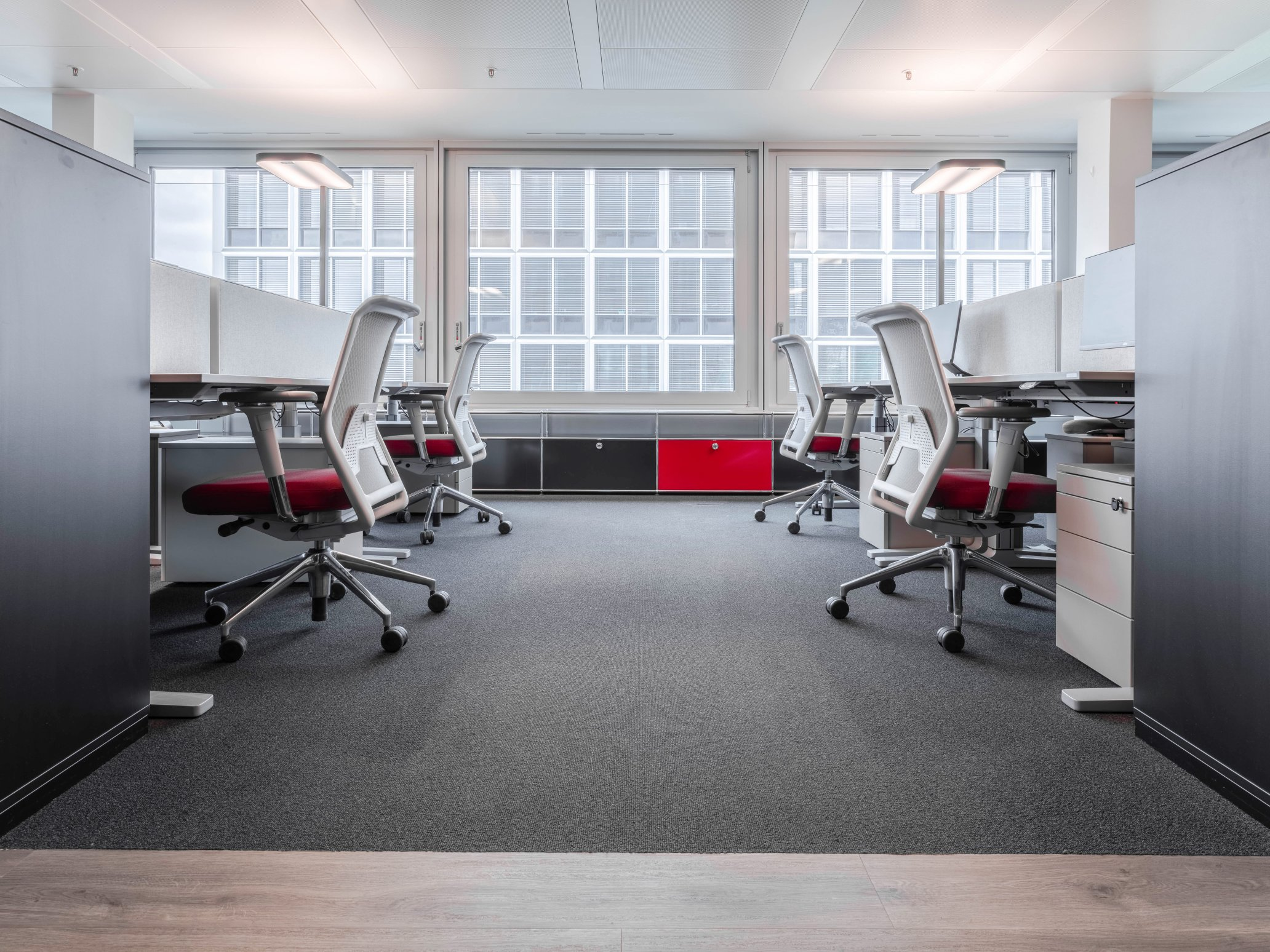 Open working area TKM Global, Hamburg