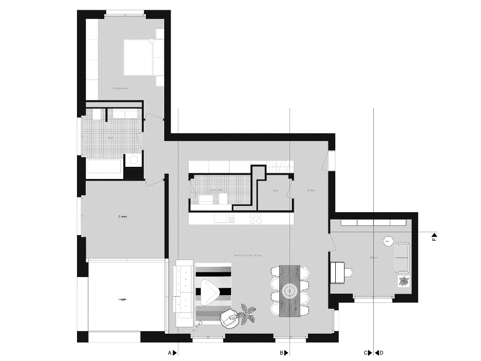 Furnishing consultation including room layout plan