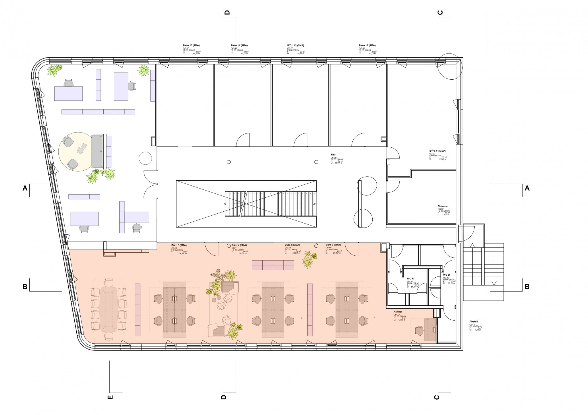 Setting up and planning a contemporary office