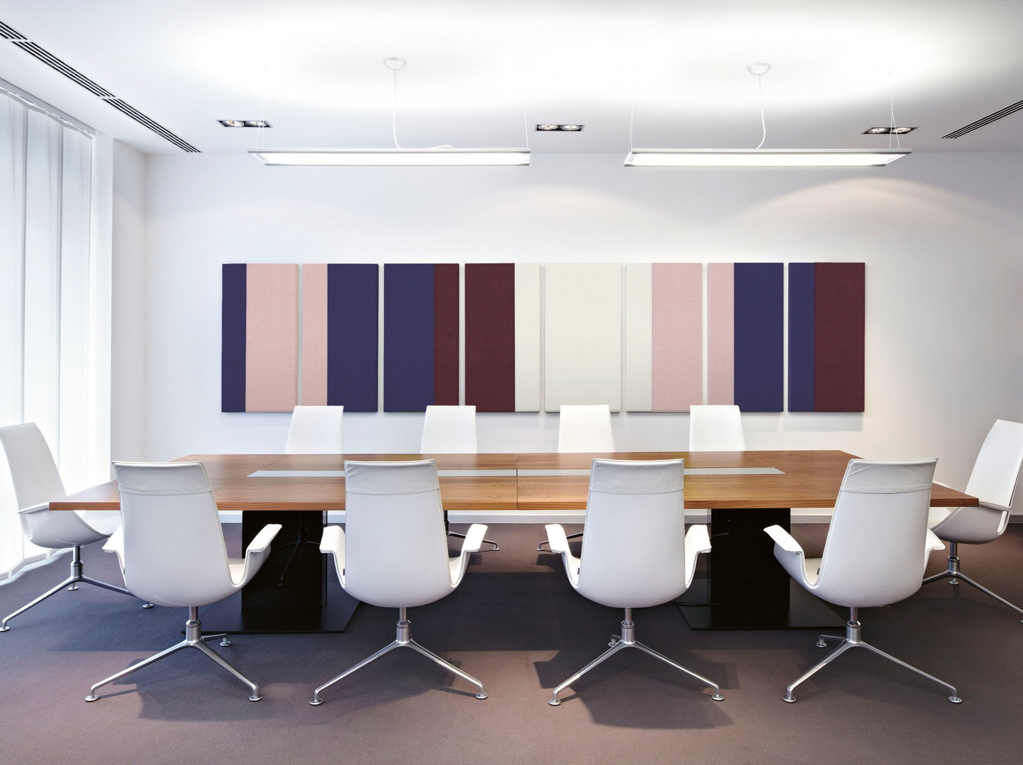 Optimum Acoustics in the Office conference room