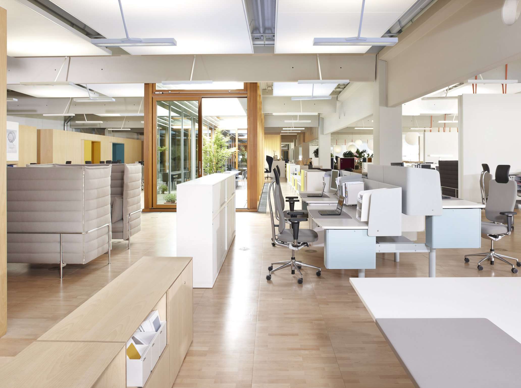 effective measures for reduced office noise