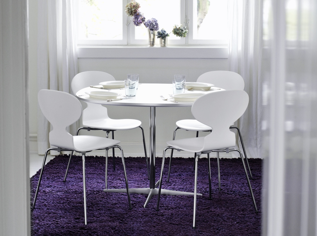 The perfect colour concept lilac violet