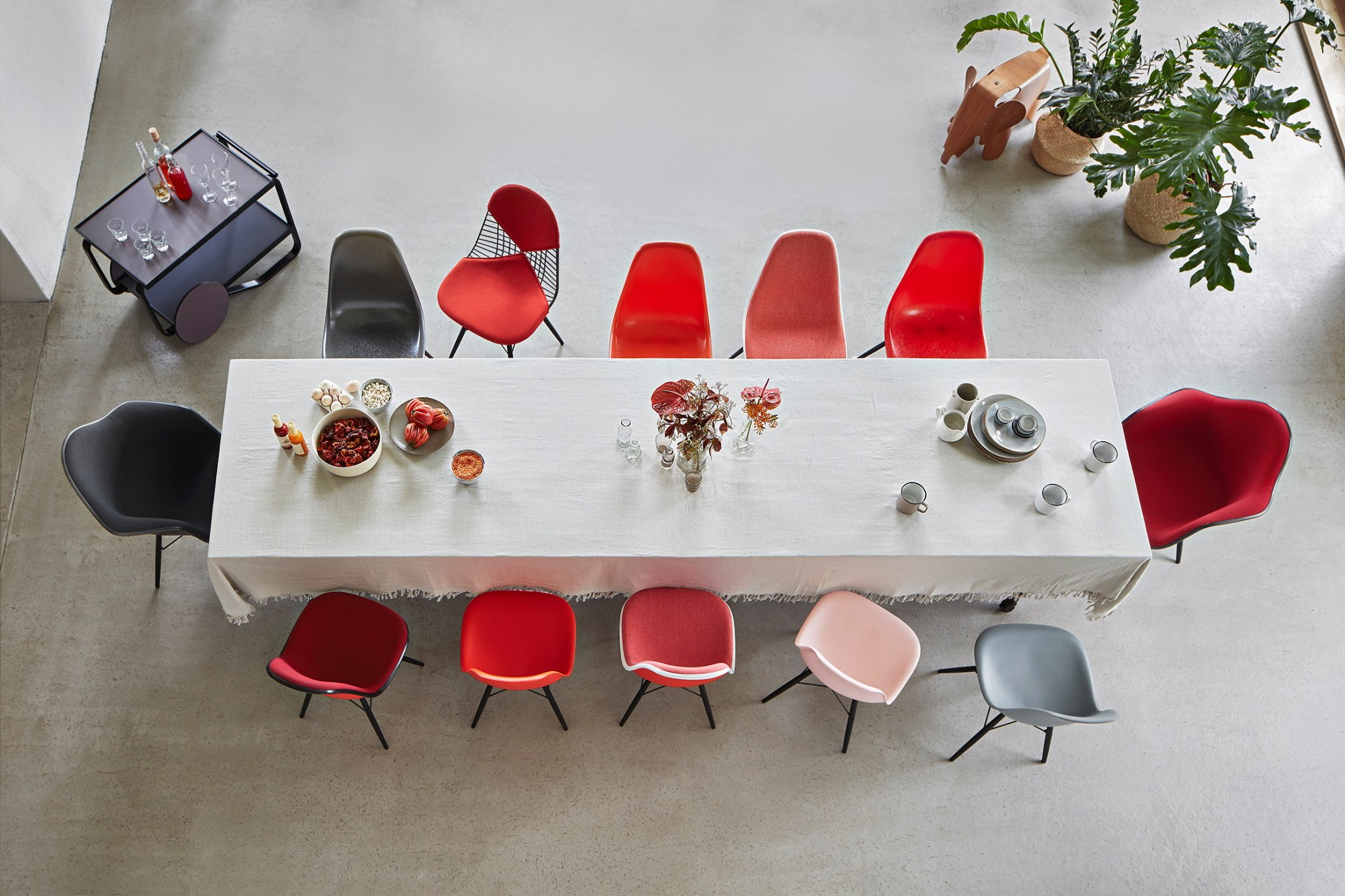 Eames Shell Chair colours