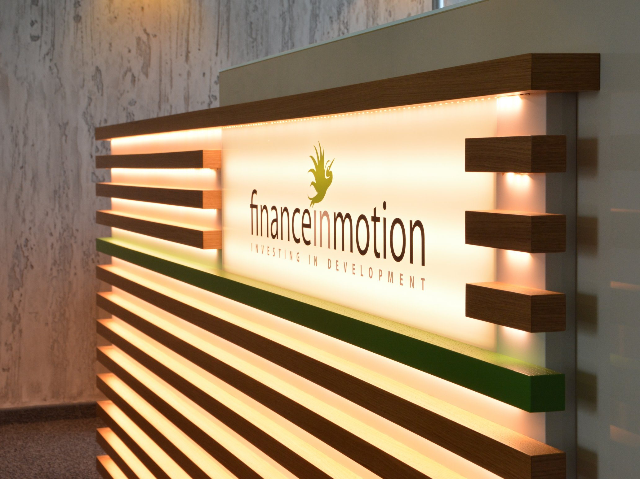 Lighting installation Finance in Motion, Frankfurt