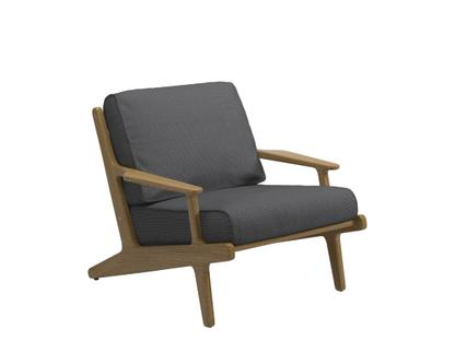 Bay Lounge Chair Anthracite|Without Ottoman