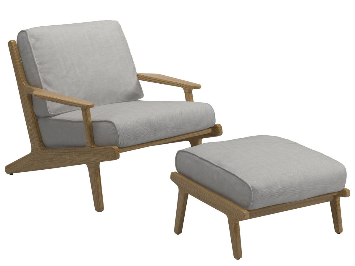 5x Lounge Chair : Gloster bay lounge chair seagull with ottoman by henrik pedersen