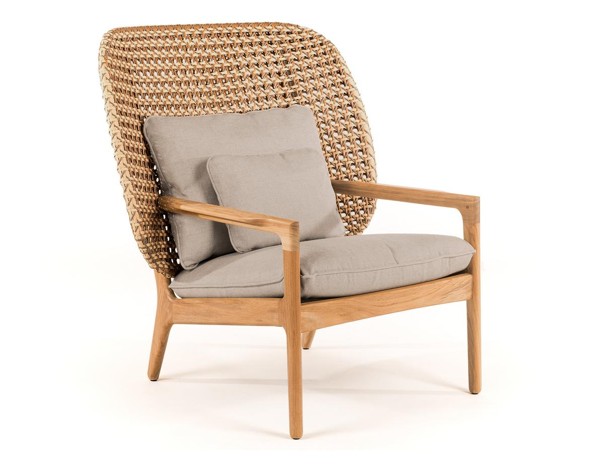 Picture of: Gloster Kay Highback Lounge Chair By Henrik Pedersen 2018 Designer Furniture By Smow Com