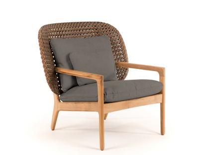 Kay Lowback Lounge Chair Brindle|Fife Platinum