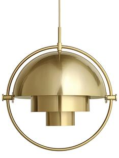 Multi-Lite Pendant Lamp Brass