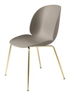 Beetle Dining Chair New beige|Brass