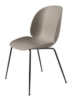Beetle Dining Chair New beige|Charcoal black