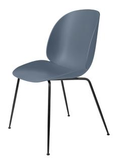 Beetle Dining Chair Smoke blue|Charcoal black