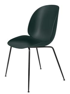 Beetle Dining Chair Green|Charcoal black