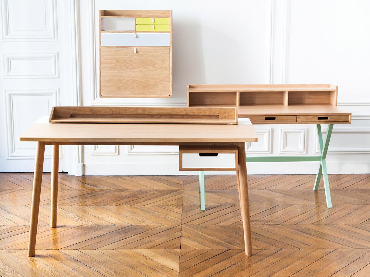 schreibtisch designerm bel. Black Bedroom Furniture Sets. Home Design Ideas